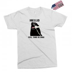 hello yes this is dog telephone phone Exclusive T-shirt | Artistshot