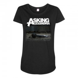 asking alexandria stand up and scream metalcore parkway drive Maternity Scoop Neck T-shirt | Artistshot