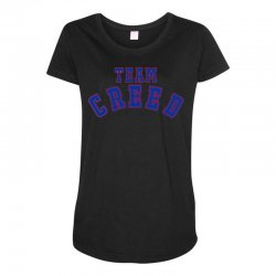Team Creed Maternity Scoop Neck T-shirt | Artistshot