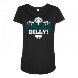Philly Dilly Maternity Scoop Neck T-shirt | Artistshot