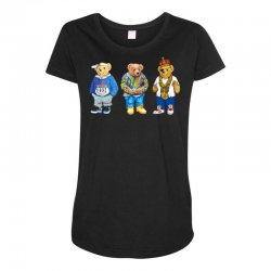 polo bear Maternity Scoop Neck T-shirt | Artistshot