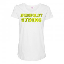 Humboldt Strong Maternity Scoop Neck T-shirt | Artistshot