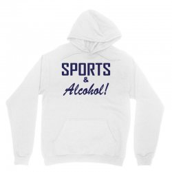 sports and alcohol Unisex Hoodie | Artistshot