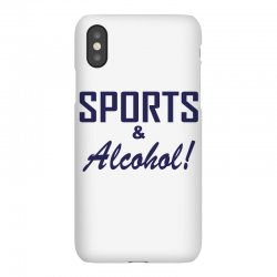 sports and alcohol iPhoneX Case | Artistshot