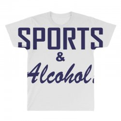 sports and alcohol All Over Men's T-shirt | Artistshot