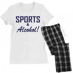 sports and alcohol Women's Pajamas Set | Artistshot