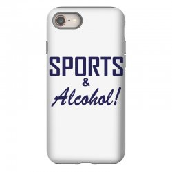 sports and alcohol iPhone 8 Case | Artistshot