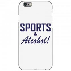 sports and alcohol iPhone 6/6s Case | Artistshot