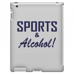 sports and alcohol iPad 3 and 4 Case | Artistshot