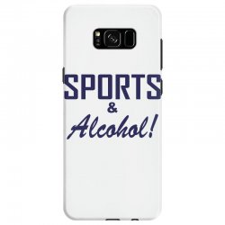 sports and alcohol Samsung Galaxy S8 Case | Artistshot