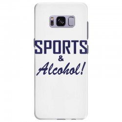 sports and alcohol Samsung Galaxy S8 Plus Case | Artistshot