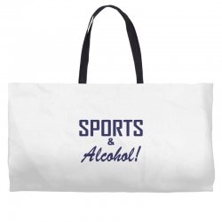 sports and alcohol Weekender Totes | Artistshot