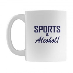sports and alcohol Mug | Artistshot
