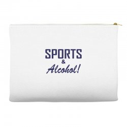 sports and alcohol Accessory Pouches | Artistshot