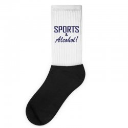 sports and alcohol Socks | Artistshot