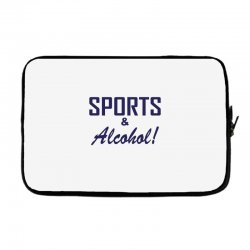 sports and alcohol Laptop sleeve | Artistshot