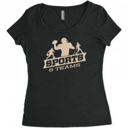 sports and teams Women's Triblend Scoop T-shirt | Artistshot