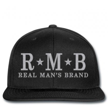 Rmb Snapback Designed By Realmansbrand