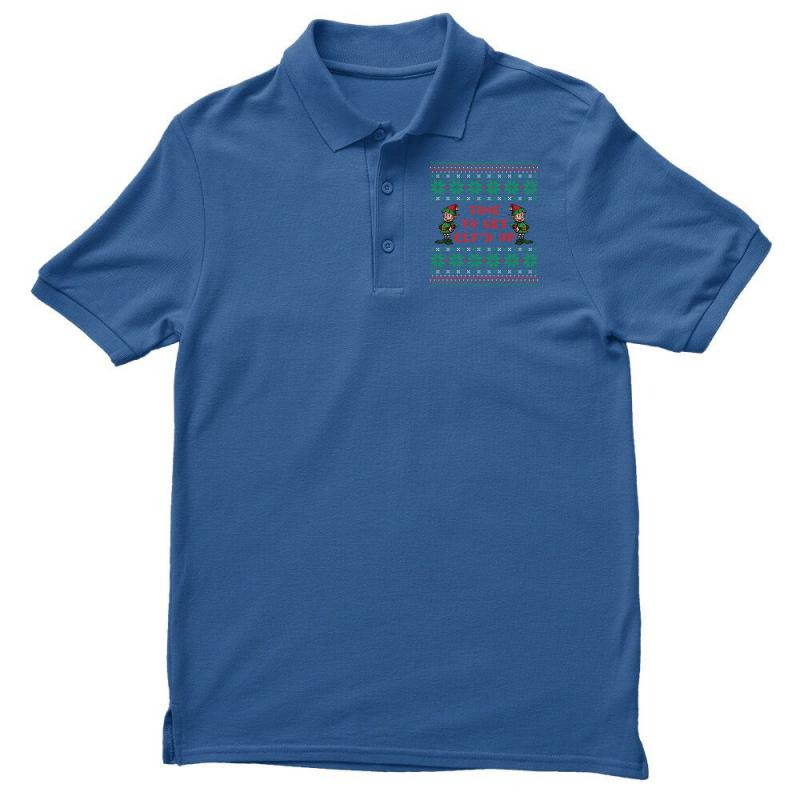 Time To Get Elfed Up Men's Polo Shirt | Artistshot