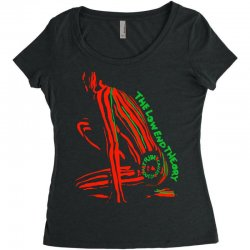 The Low End Theory Women's Triblend Scoop T-shirt | Artistshot