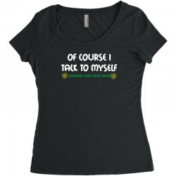 geek expert advice   science   physics   nerd t shirt Women's Triblend Scoop T-shirt | Artistshot