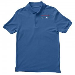 eat, sleep & train triathlon sports, gym, athletic Polo Shirt | Artistshot