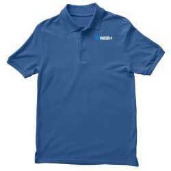 geek' (power on button) Polo Shirt | Artistshot
