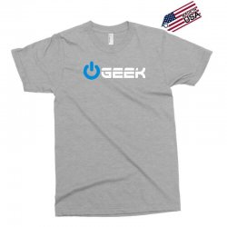 geek' (power on button) Exclusive T-shirt | Artistshot