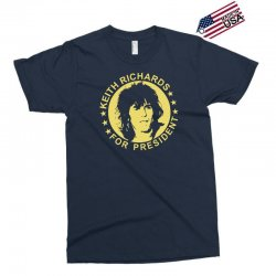 keith richards for president Exclusive T-shirt | Artistshot