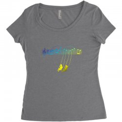 music swing Women's Triblend Scoop T-shirt | Artistshot