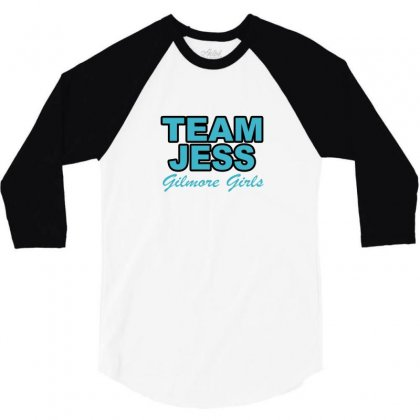 Team Jess 3/4 Sleeve Shirt Designed By Megaagustina