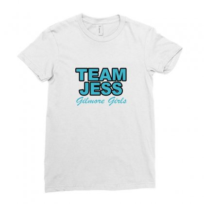 Team Jess Ladies Fitted T-shirt Designed By Megaagustina