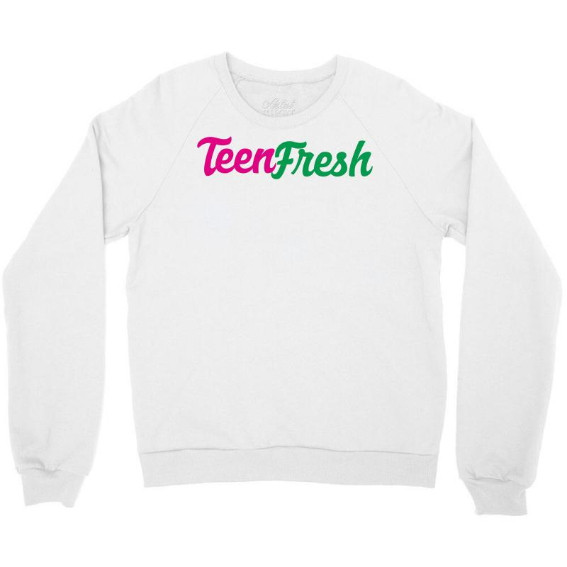 5939991e06df Custom Teen Fresh Crewneck Sweatshirt By Danielart - Artistshot