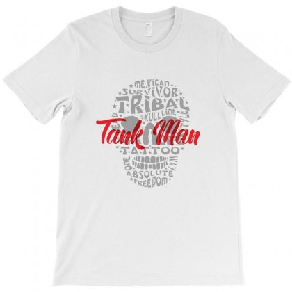 A Tank Man T-shirt Designed By Danielart