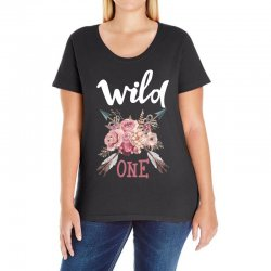 Wild One Girl Ladies Curvy T-Shirt | Artistshot