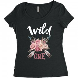 Wild One Girl Women's Triblend Scoop T-shirt | Artistshot