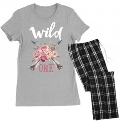 Wild One Girl Women's Pajamas Set | Artistshot