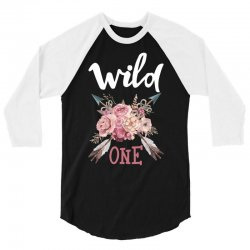 Wild One Girl 3/4 Sleeve Shirt | Artistshot
