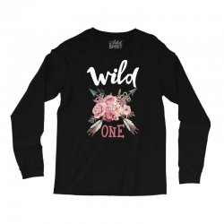 Wild One Girl Long Sleeve Shirts | Artistshot
