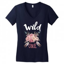 Wild One Girl Women's V-Neck T-Shirt | Artistshot