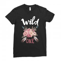 Wild One Girl Ladies Fitted T-Shirt | Artistshot