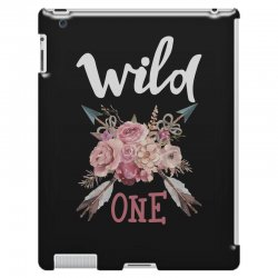 Wild One Girl iPad 3 and 4 Case | Artistshot