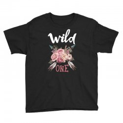 Wild One Girl Youth Tee | Artistshot
