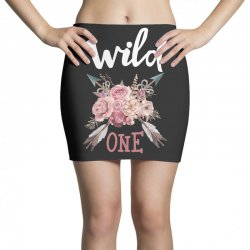 Wild One Girl Mini Skirts | Artistshot
