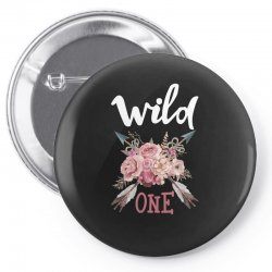 Wild One Girl Pin-back button | Artistshot