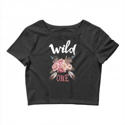 Wild One Girl Crop Top | Artistshot