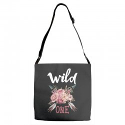 Wild One Girl Adjustable Strap Totes | Artistshot