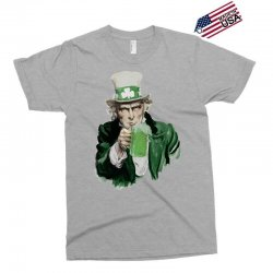 st patricks day  uncle sam Exclusive T-shirt | Artistshot