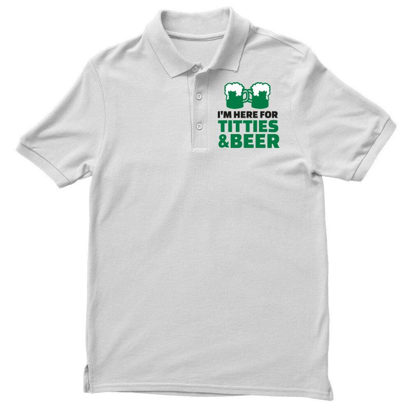 80aafda2ce03b Custom St. Patrick s Day Titties And Beer Polo Shirt By Sbm052017 ...