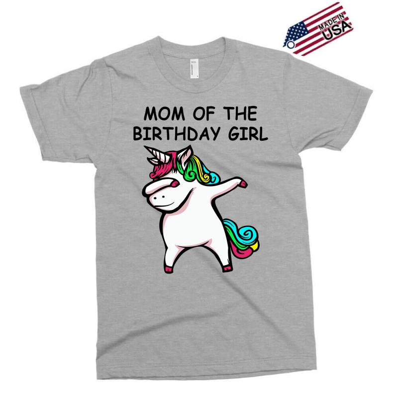 Mom Of The Birthday Girl Exclusive T Shirt